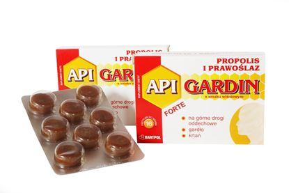 Obrazek Bartpol | API GARDIN FORTE Propolis i prawoślaz o smaku wiśniowym 16 pastylek do ssania