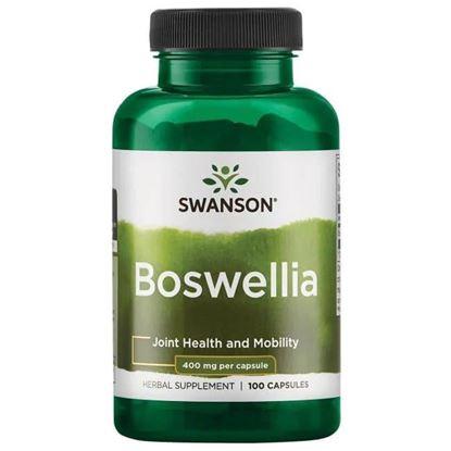 Obrazek Swanson   Boswellia (Boswellia Serrata - żywica) 100 kaps.