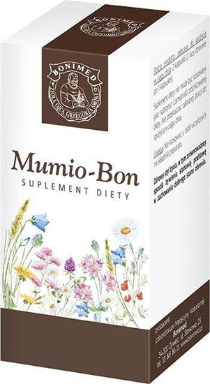 Obrazek Bonimed   MUMIO-BON 60 kaps. - zdrowie i regeneracja tkanki kostnej